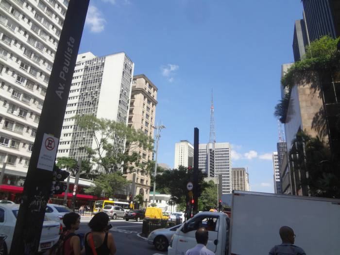 Skyscrapers on Paulista Avenue