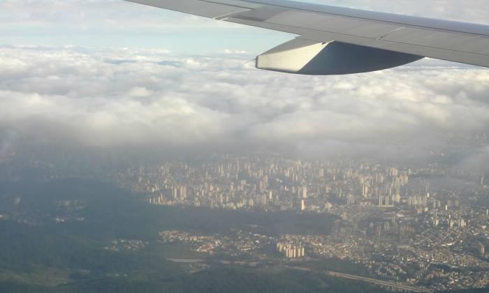 Arriving in Sao Paulo :)